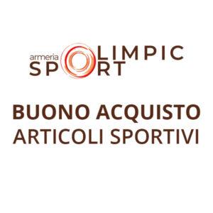 Buono acquisto per articoli sportivi | Armeria Olimpic Sport Srl